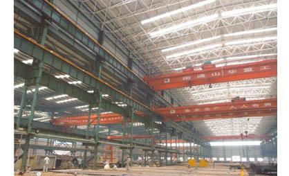 钢铁厂网架案例图