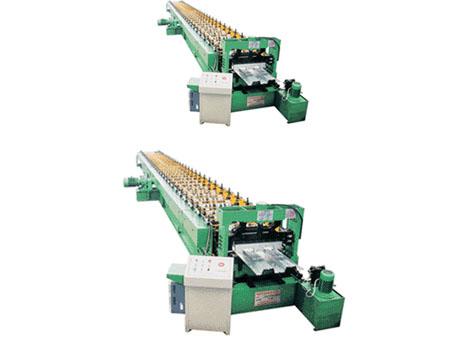 钢承板压型机